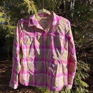 Columbia Omni-shade sun protective shirt